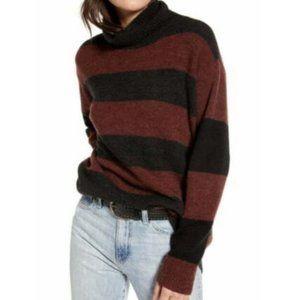 TREASURE & BOND Oversized Striped Knit Sweater Med